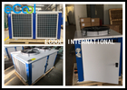 Horizontal Cold Room Condensing Unit / AC Condenser Air Conditioning System