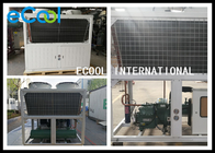 Central Air Conditioning Freezer Condensing Unit Wide Temperature Range