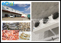 Customized Size Frozen Food Storage Warehouses With Cold Room Sandwich Panels
