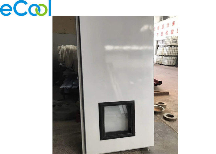100mm 200mm Cold Storage Panels For AH Semi Embedded Door , Stainless Steel PU Panel Board