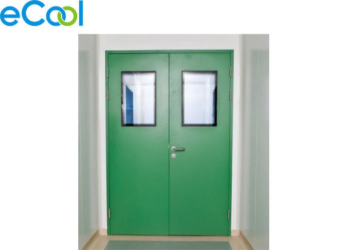 Stainless Steel Polyurethane Panel Clean Door For Food Storage Warehouse