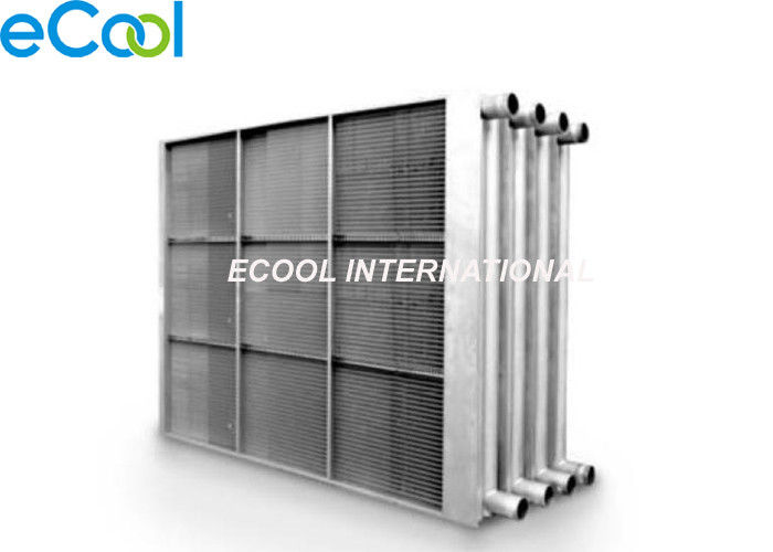 Dry Cooler / Oil Cooler / Hot Water Fin And Tube Heat Exchanger Coil Air Cooled Evaporator