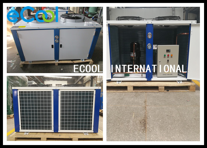 Durable Air Cooled Condensing Unit , Single Compressor 5 Hp Condensing Unit