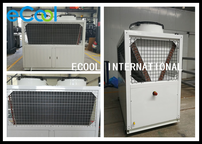 Outdoor Air Conditioning Condenser Unit / Quiet Central Air Condenser Unit