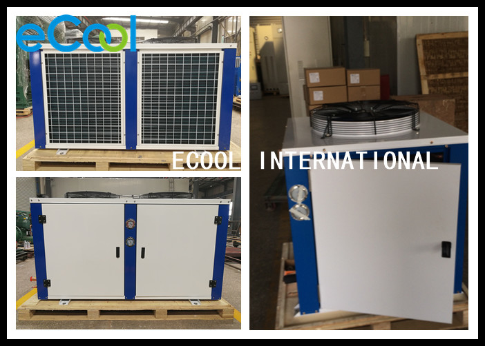 Remote Air Con Condenser , High Efficiency Air Conditioner Outside Unit
