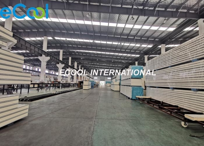 Insulated Cold Storage Wall Panels / Cold Room Control Panel High Density